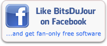 Like BitsDuJour on Facebook